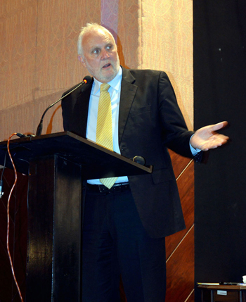 =Australian High Commissioner speaking at the Inaugural Session of the conference 2014 HE Peter Heyward