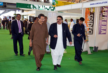 =Balochistan Food Minister at the expo 2014