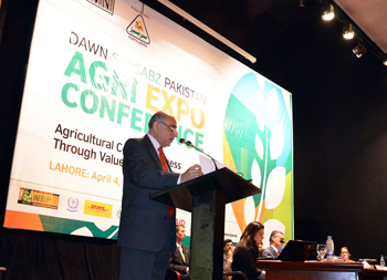 =Director Marketing Fatima Group speaking at the Inaugural Session of the conference 2013