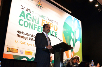 Governor Punjab addressing the Inaugural Session of the conference 2013