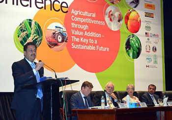 =Punjab Agriculture Minister speaking at the Inaugural Session of the conference 2014