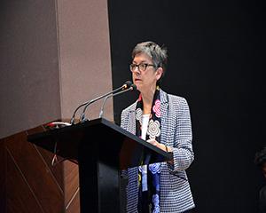 The Australian High Commissioner, Ms. Margaret Adamson
